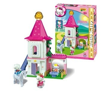 Set constructie Unico Plus Hello Kitty Castel