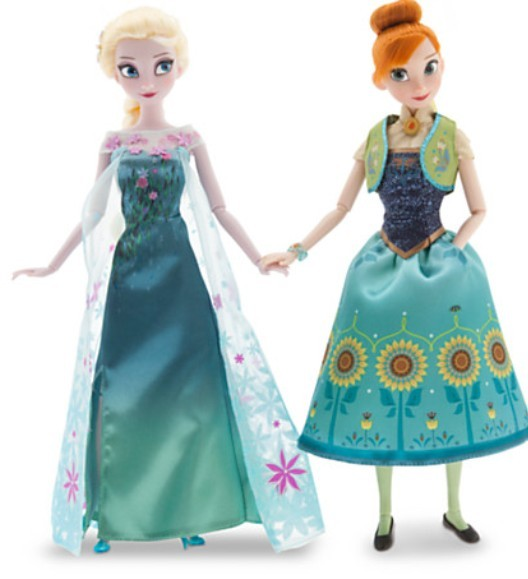 Set papusi Elsa si Anna Solstitiul de vara