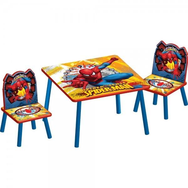 Set masuta si 2 scaunele Disney Spiderman