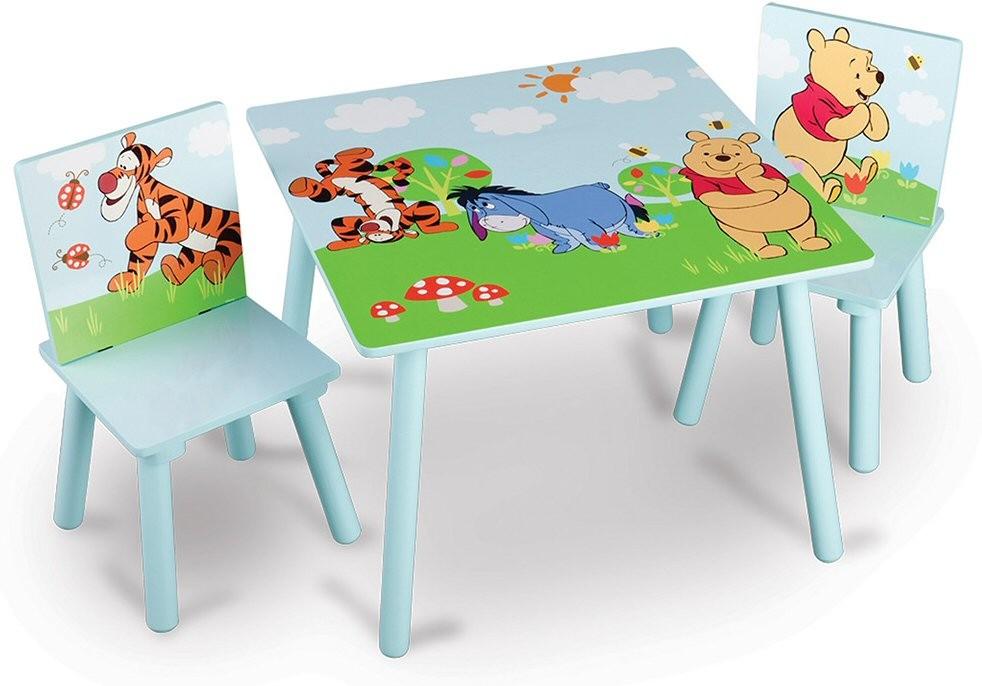 Set masuta si 2 scaunele Disney Winnie