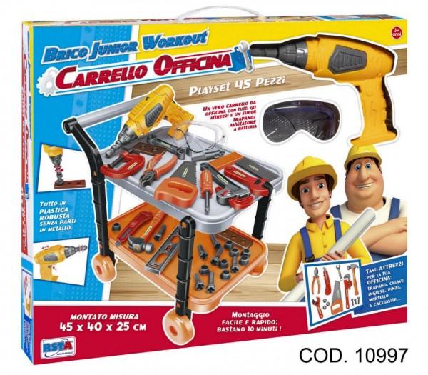 Set scule si bormasina cu acumulator, RS Toys
