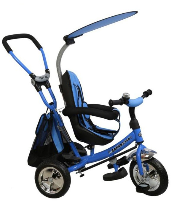Tricicleta cu sezut reversibil Safari Break 360? Blue