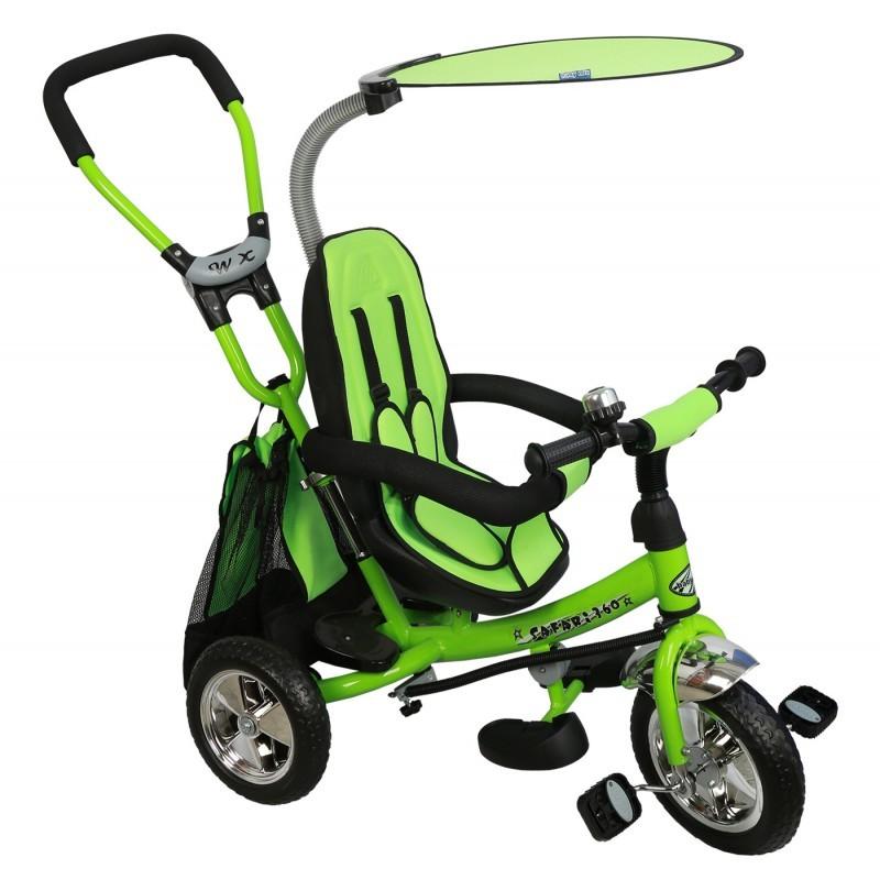 Tricicleta cu sezut reversibil Safari Break 360? Green