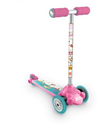 Trotineta copii Twist and Roll Hello Kitty