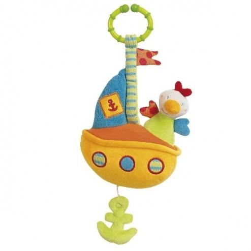 Jucarie muzicala Vaporas - Brevi Soft Toys