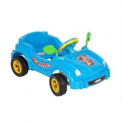 Masinuta albastra cu pedale, Visul copiilor - Guclu Toys