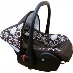 Scaun auto Camarade - Maro cu Floricele