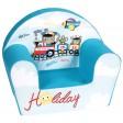Fotoliu din burete pentru copii Holiday Trade