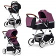 Carucior multifunctional Optimo 3 in 1 - Easy Go - Purple