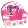 Fotoliu din burete pentru copii Owl Dreams Trade