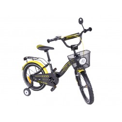 Bicicleta copii MyKids Toma Exclusive 1605 Yellow