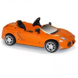 ToysToys Masinuta cu pedale copii Lamborghini Gallardo Portocaliu