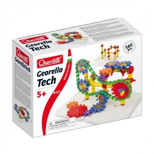 Joc creativ Georello Tech Quercetti constructie roti dintate