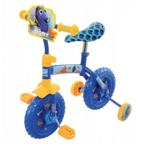 Bicicleta copii Finding Dory 10 inch 2 in 1 cu si fara pedale