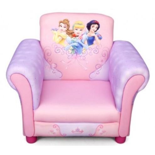 Fotoliu cu cadru din lemn Disney Princess