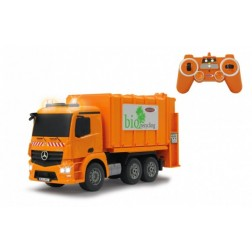 Camion de gunoi cu telecomanda Jamara 405079 scara 1:20 cu tomberoane incluse