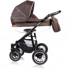 Carucior Crooner 3 in 1 - Vessanti - Brown