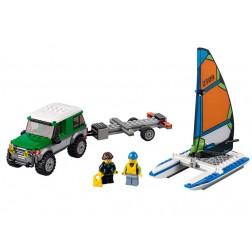 Masina 4x4 si Catamaranul (60149)