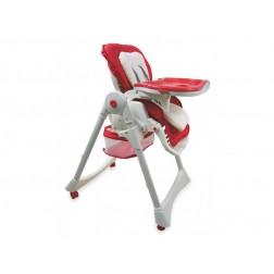 Scaun de masa copii Baby Mix YB602A Red