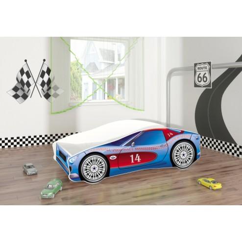 Pat Tineret MyKids Race Car 02 Blue-140x70