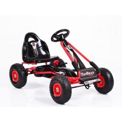 Cart Cu Pedale Copii Moni Racer Rosu
