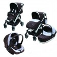 Carucior 3 in 1 M10 Brown - Carello