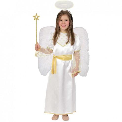 Costum pentru serbare Ingerasul Auriu 104 cm