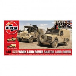 Kit automodele Airfic 6301 Masini British Forces WMIK Land Rover - Snatch Land Rover Scara 1:48