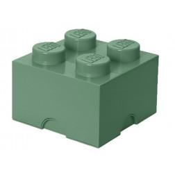 Cutie depozitare LEGO 2X2 verde nisip  (40031747)