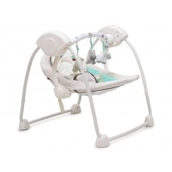 Leagan Electric Bebelusi CANGAROO Baby Swing Verde