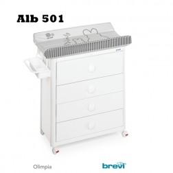Comoda Olimpia Alb - Brevi