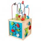 Cub educativ din lemn Farmyard - KidKraft
