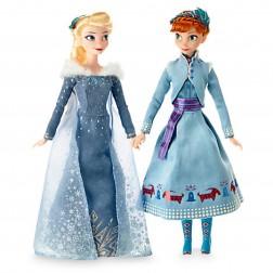 Set papusi Elsa si Anna din Olaf's Frozen Adventure