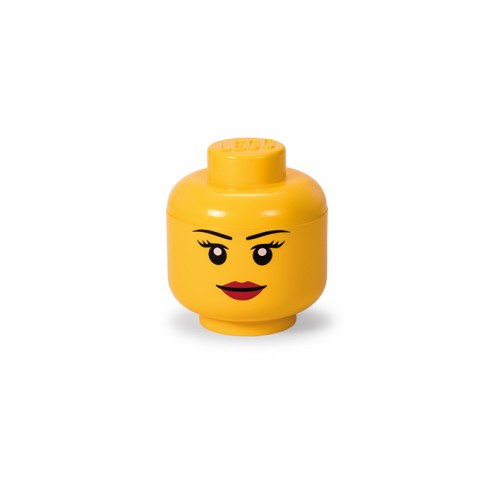 LEGO Cutie depozitare cap minifigurină - Fată