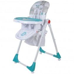 Scaun de masa Comfort Lux - Sun Baby - Turcoaz