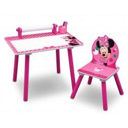 Set masuta pentru creatie si 1 scaunel Minnie Mouse - Delta Children