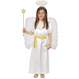Costum pentru serbare Ingerasul Auriu 116 cm