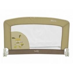 Protectie pat Micro pentru bebelusi Just Baby Bej