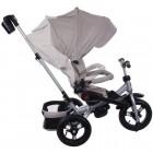 Tricicleta multifunctionala copii Bej Little Tiger T400 - Sun Baby