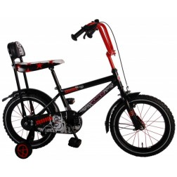 Bicicleta pentru baieti 16 inch, cu roti ajutatoare,  Volare Chopper
