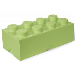 Cutie depozitare LEGO 2x4 verde fistic (40041748)