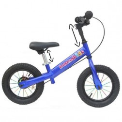 Bicicleta fara pedale 12 inch Explorer - Mamakids - Albastru