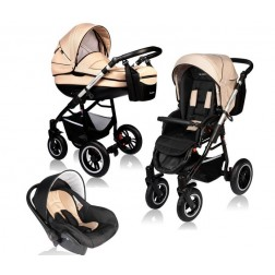 Carucior Crooner Prestige 3 in 1 - Vessanti - Cream