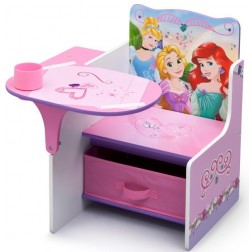 Scaun multifunctional din lemn Disney Princess Friendship
