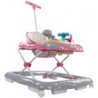 Premergator cu control parental Super Car Roz cu Gri - Sun Baby