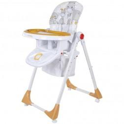 Scaun de masa Comfort Lux - Sun Baby - Portocaliu