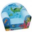 Fotoliu din burete Sea Life pentru copii - Knorrtoys