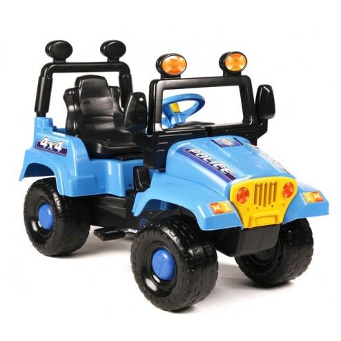 Masina de teren pentru copii Police Speed Super Plastic Toys