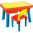 Set masuta cu scaun din plastic multi activitati