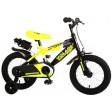 Bicicleta copii Volare Sportivo Galben Neon, 14 inch
